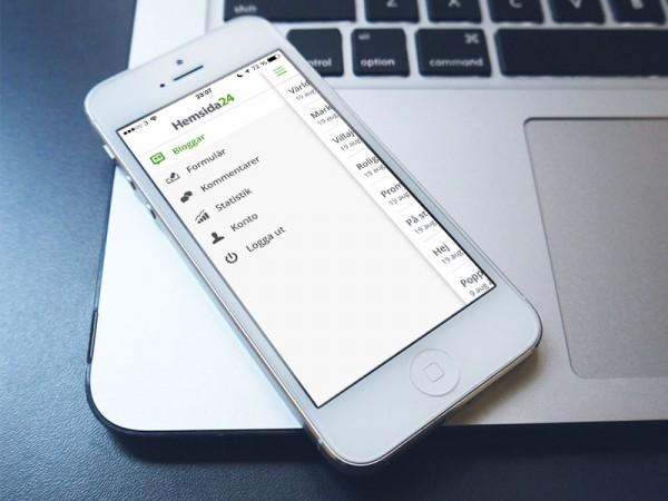 Hemsida24 iOS7